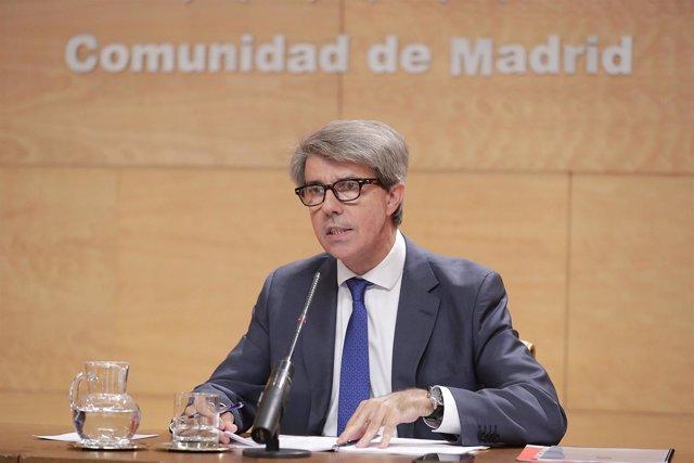Rueda De Prensa Consejo De Gobierno  La Presidenta De La Comunidad De Madrid, Cr