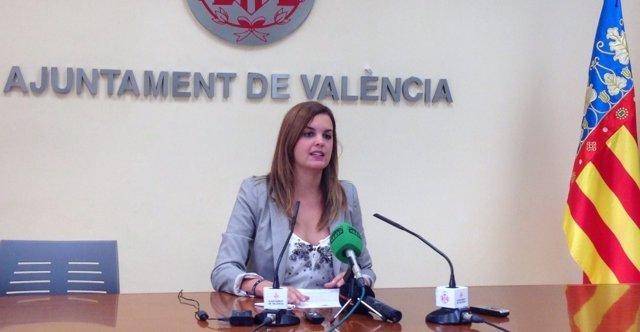 Sandra Gómez en una imagen de archivo