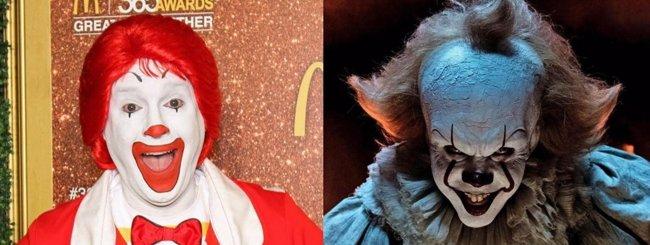 Burger King Rusia pide prohibir It por el parecido entre Pennywise y Ronald McDonald (WARNER BROS.)