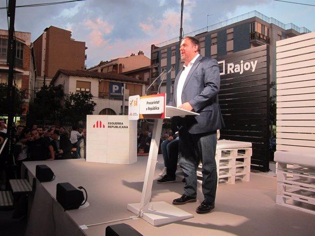 El Vicepte.Del Govern Y Líder De ERC, Oriol Junqueras