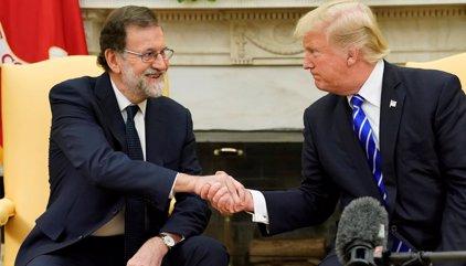 """Trump defiende una España """"unida"""" y cree que sería """"una tontería"""" que Cataluña no siga dentro de este """"bello país"""""""