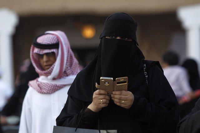 Mujer en Arabia Saudí