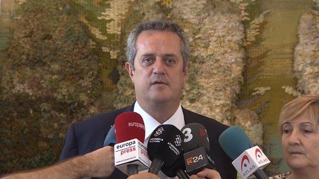 El conseller de Interior, Joaquim Forn