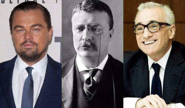Leonardo DiCaprio, Theodore Roosevelt y Martin Scorsese