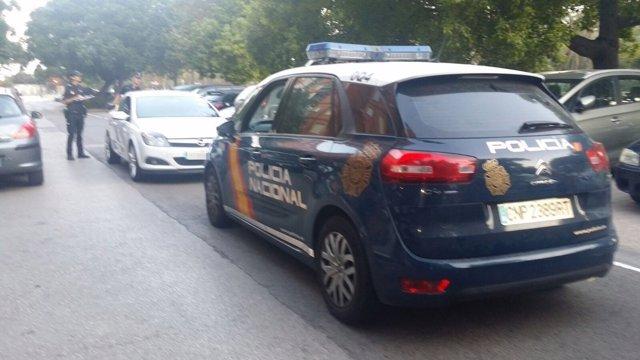 Dispositivo policial de búsqueda