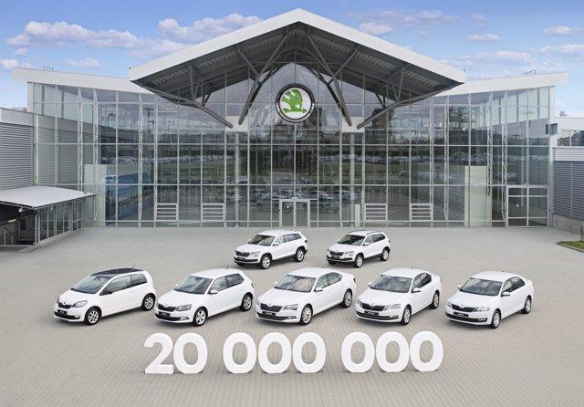Skoda alcanza los 15 millones de vehículos producidos