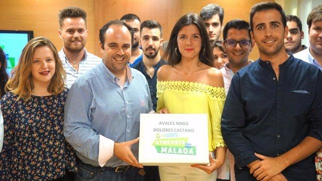 Dolores Loli Caetano NNGG Málaga candidata presidencia presidir 2017