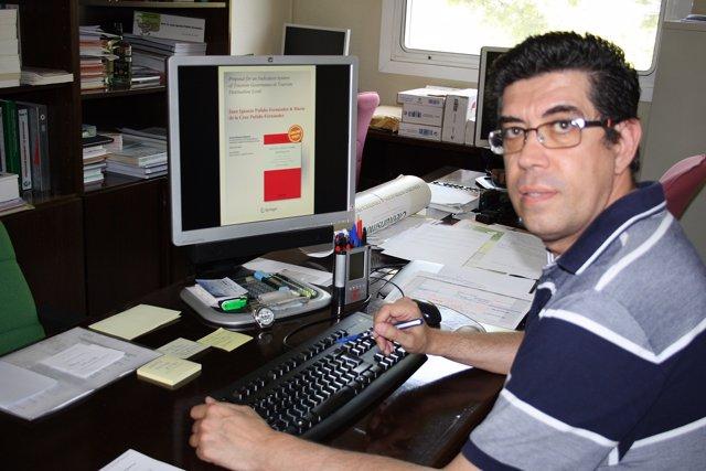 El profesor de la UJA Juan Ignacio Pulido.