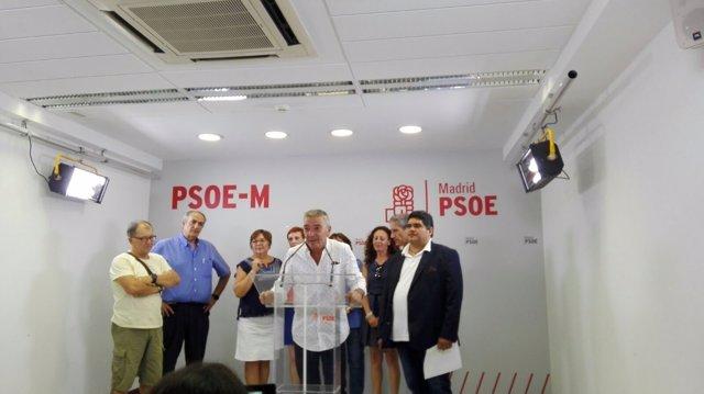 Manuel Lucas y su equipo