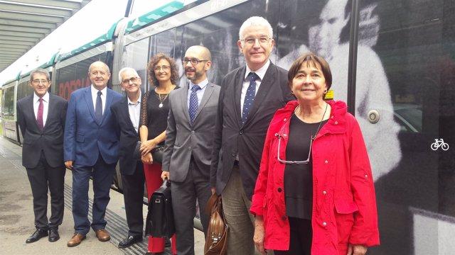 Acuerdo entre el Tram y cinco museos para difundir la cultura