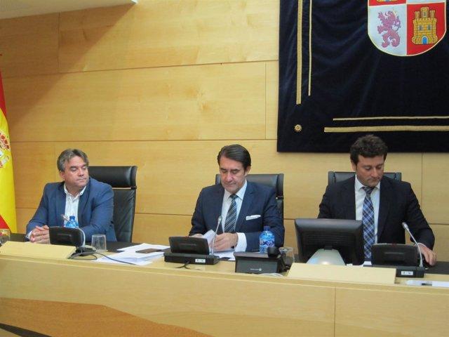Suárez-Quiñones comparece ante las Cortes