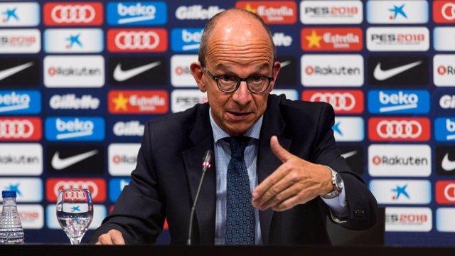 El vicepresidente primero del FC Barcelona Jordi Cardoner