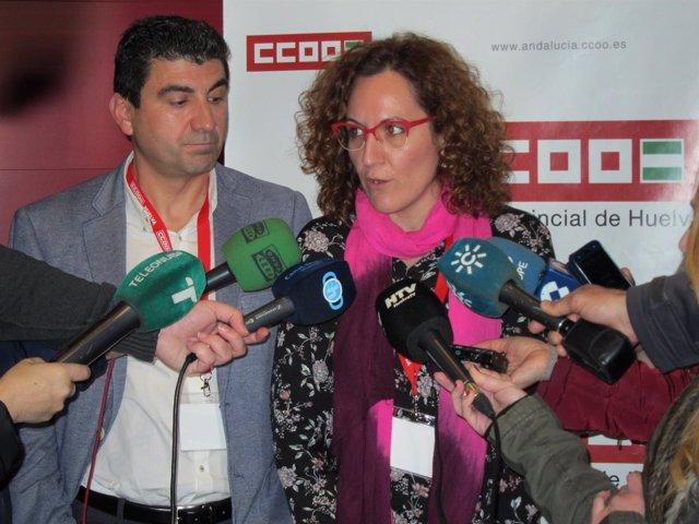 Nuria López, candidata a la secretaría general de CCOO-A.
