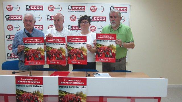 Marcha Por Las Pensiones CCOO Y UGT