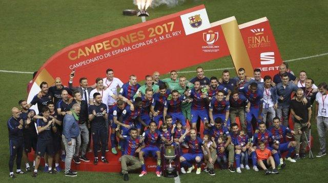 El FC Barcelona, campeón de Copa 2017