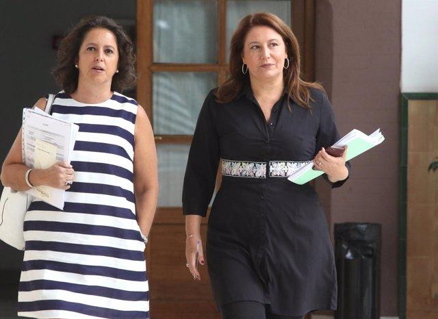 Carmen Crespo y Catalina García