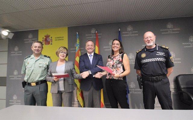 Acuerdo entre Tráfico de la Guardia Civil y la Policía Local de València