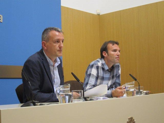 Fernando Rivarés y Pablo Muñoz
