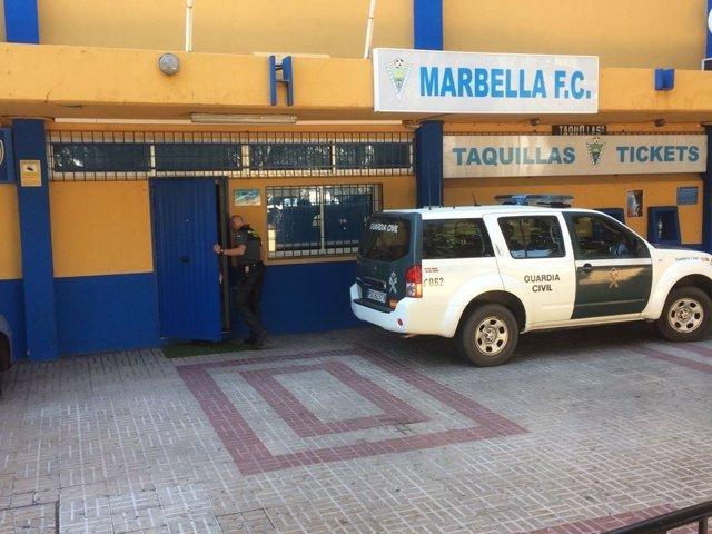 Detenido, presidente, Marbella CF, banda criminal rusos