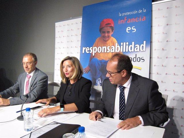 Rodríguez (i), García (c) y De Pablos (d)
