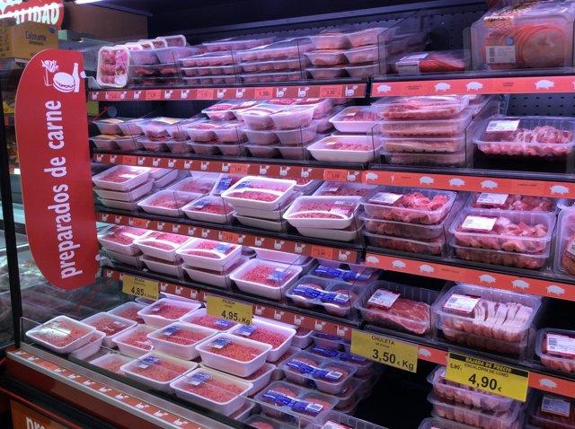 Precios, IPC, inflación, consumo, ensalada, ensaladas, carne, carnes, comprar