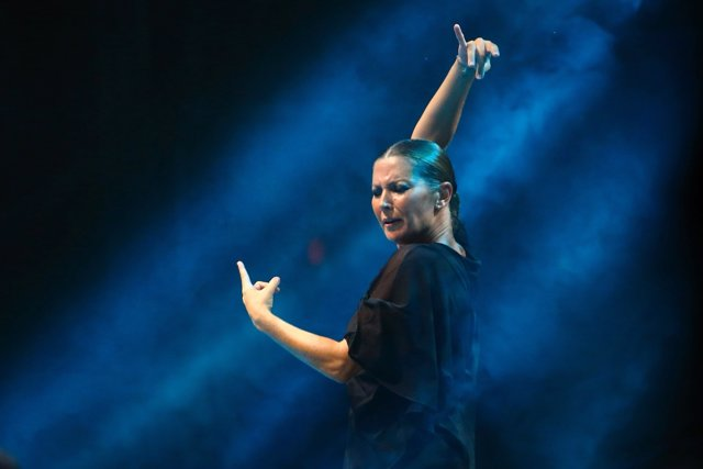 Sara Baras en diciembre en el Teatro Olympia