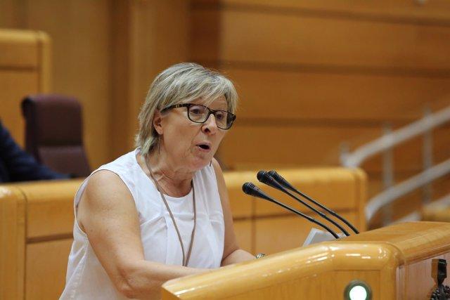 La Portavoz De ERC En El Senado, Mirella Cortès Gès