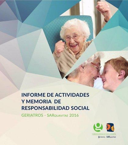 Geriatros-SARquavitae presenta su primer informe integrado de responsabilidad social