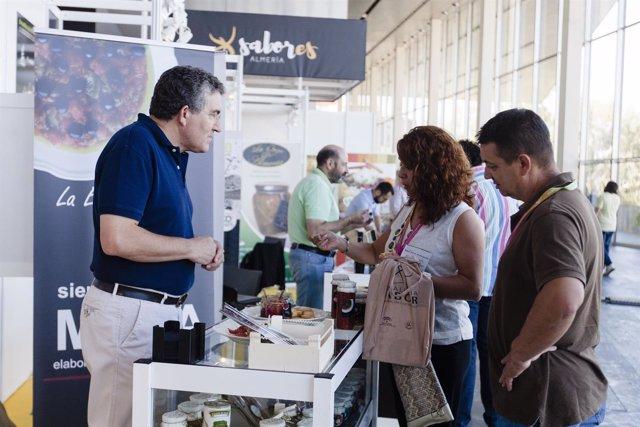 El stand de 'Sabores Almería' ha recibido miles de visitas en 'Andalucía Sabor'.