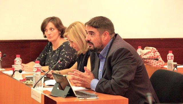 Esteban en la Comisión
