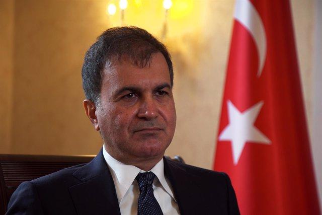 El ministro turco de relaciones con la UE, Omer Celik