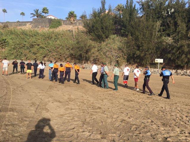 Rodaje de la campaña 'Canarias, 1500 km de Costa'