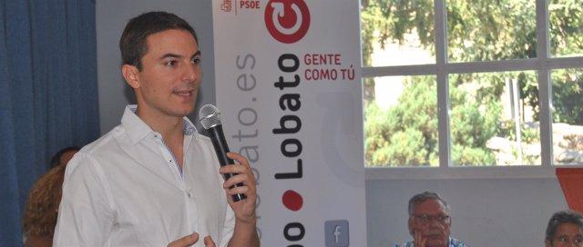 Juan Lobato, alcalde de Soto y diputado del PSOE-M