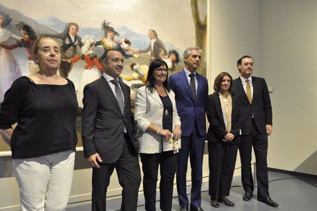 Presentación de la exposición 'Goya y la corte ilustrada'.