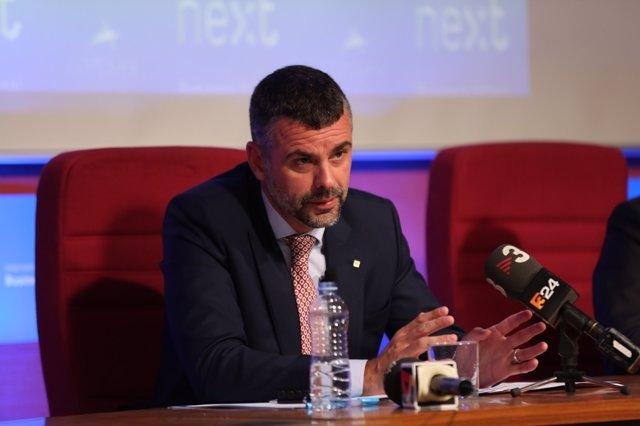 El conseller de Empresa de la Generalitat, Santi Vila, en el Foro Next IBS