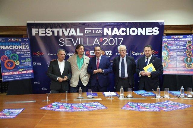 Fundación Cajasol participa por segundo año en el Festival de las Naciones