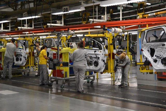 Planta de Renault en Valladolid