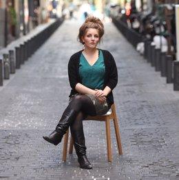 La autora de la novela El deshielo, Lize Spit