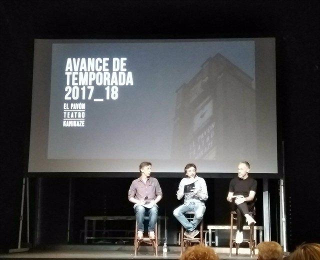 Presentacion temporada 2017-2018 Teatro Kamikaze
