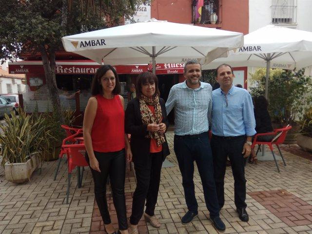 Cristina Narbona presidenta del PSOE en Málaga con sanchistas