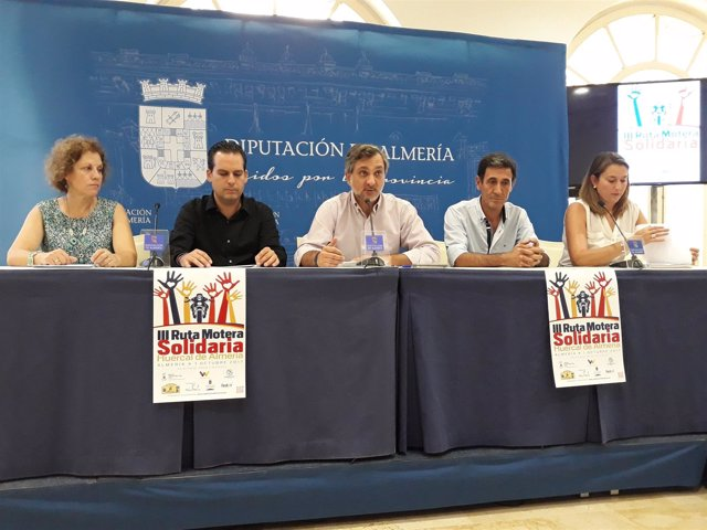 Huércal de Almería organiza su tercera Ruta Motera por las enfermedades raras.