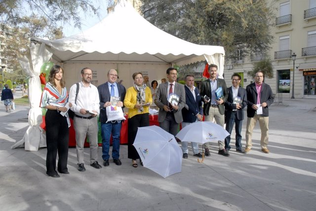 Representantes institucionales en el Día Mundial del Turismo
