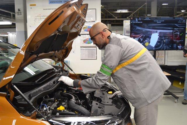 Valladolid: Un trabajador de Renault Valladolid