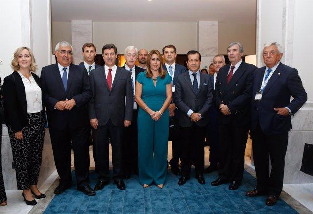 Encuentro Empresarial Andalucía Portugal.