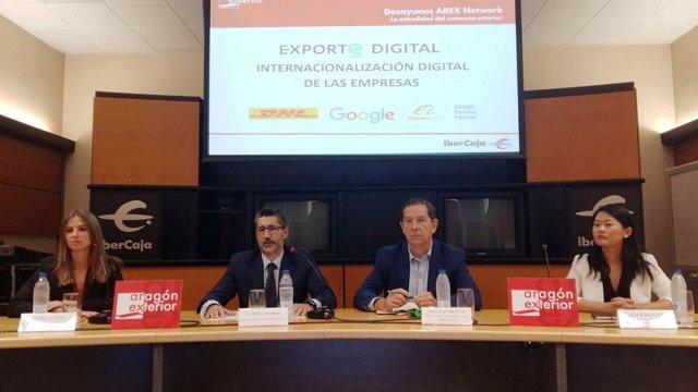 Desayuno Arex sobre internacionalización digital de las empresas