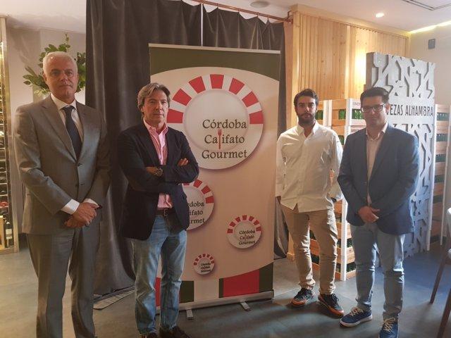 Presentación en Madrid de la IV Córdoba Califato Gourmet