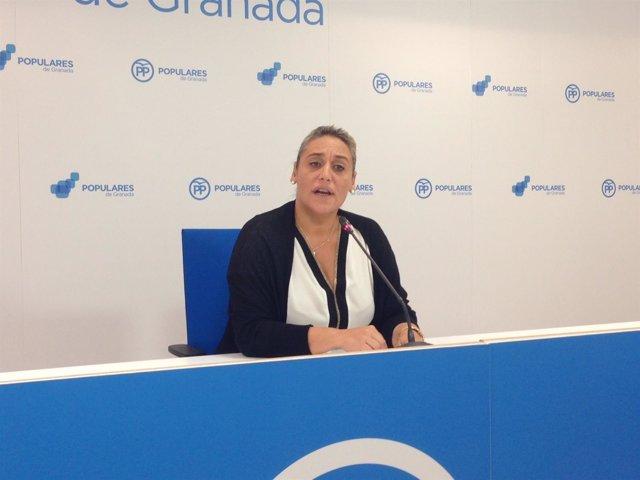 La diputada provincial del PP María Merinda Sádaba