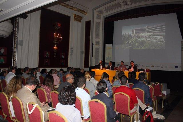 Momento de la presentación del AWFF en Madrid