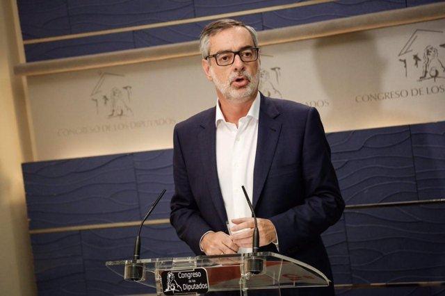 Declaraciones de José Manuel Villegas en el Congreso