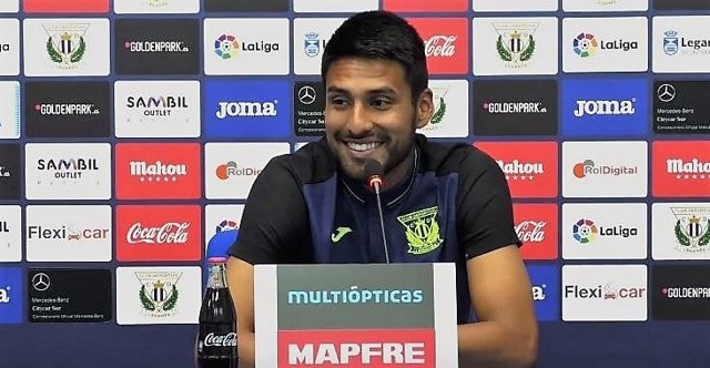 Mauro dos Santos, jugador del CD Leganés